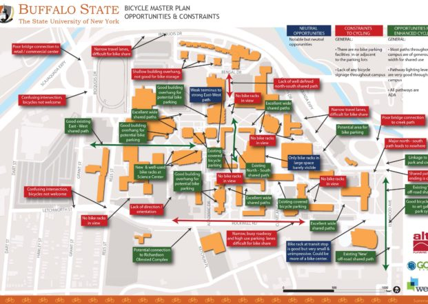 SUNY Buffalo State Bike Friendly University Plan