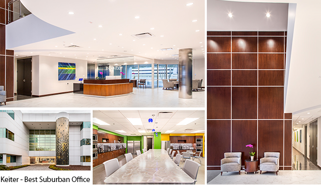 BEST SUBURBAN OFFICE Went To KEITER Evolve Was Architect And Interior Designer
